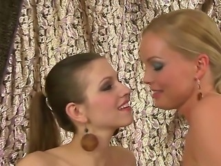 Superb pornstar Sivlia Saint amazes once again with a wonderful lesbian softcore