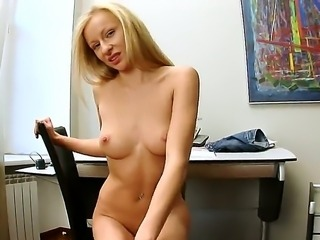 Magda is one naughty blonde with big natural tits and a gorgeous shaved pussy