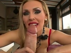 Debbie White wasnt quite sure she would handle Rocco Siffredis monster cock...