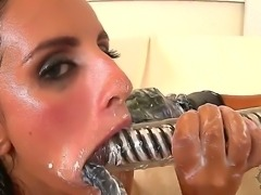 Mad Hungarian courtesans Connie and Kerry bring on their lesbian passion....