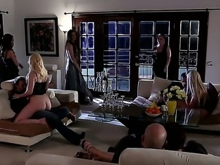 India Summer and Lily Carter are pleasing horny male James Deen in amazing...
