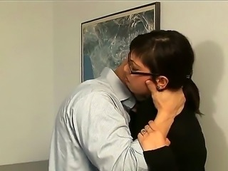 Hi crazy fuckers and sexy ladies! I present to you amazing action in the office with Derrick Pierce and Satine Phoenix. This lady is really crazy! So just watch and enjoy people!