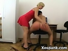 Spanking Fetish Sex  For Explicit Young Hottie