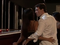 Sexy boss Manuel Ferrara invited his two smoking hot secretaries Asa Akira...