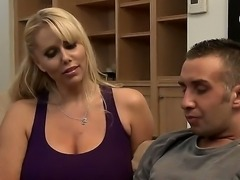 Keiran has troubles keeping his girlfriends because of his huge dick, but the...