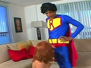Mr. Mega cock Ramon comes into Vixens apartment and offers her an opportunity to suck his dick. This evil red-head has been waiting for someone like him to come and take her.
