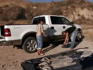 Aaron Wilcoxxx gladly takes Asian cutie Sasha Hollander for a ride through Arizona desert. He knows that he will end up getting his cock sucked for as long as the trip lasts!