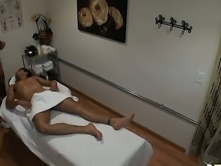 Ryan Driller comes to the massage center and asks for the best masseur girl....