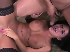 Eva Angelina is astounding brunette sex-goddess with ideal forms for any...
