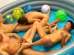 Lili Lamour,Markus A,Mary Lee and Omar Galanti are enjoying hardcore foursome...