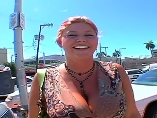 Eden is a curious middle aged lady with stunning forms.  The guys ran into her on the beach and seduced her for a sex on camera. She will not disappoint them.