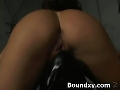Wild Humiliation For Girl In PVC