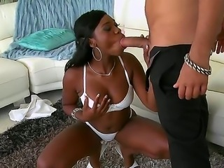 Ebony Star is a hot cute