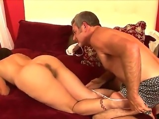 Sexy tanned milf Melissa Monet loves as her fucker Jay Crew eats her pussy and filthy ass hole!