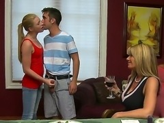 Welcome to crazy sex party with Avril Hall,Bud Lee,Kristal Summers and Logan...