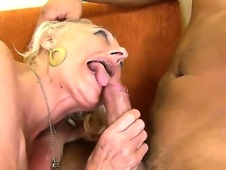 Sila is blonde granny with great fucking experience and super hungry pussy....