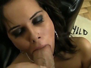 Rocco Siffredis huge cock needs attention right now and boy will it get it. Go ahead  what you will get here is one damn nasty and messy blowjob scene with girl named Brigi.