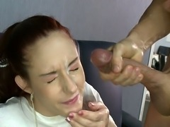 One more night of fun before she got married! Facial cumshot!