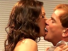 Naughty amateur man Evan Stone trying to seduce for fuck his hot brunette...
