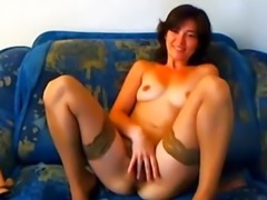 Hot Teen Babe with Hairy Pussy