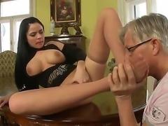 Anastacia Bill appreciated so much Christoph Clark foot massage skills that...