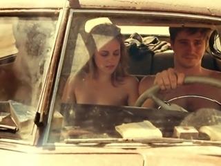Kirsten Stewart Nude - On The Road