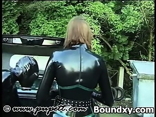 Temping Latex Teen Sadomaniac Sex