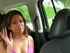 This busty MILF was just too damn easy to take home  she got very explicit...