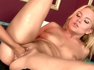 Two sinful blonde bitches Barbie White and Salome cant be satisfied by...