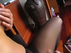 Attractive Asian Ming is having fun