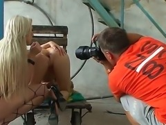 Breathtaking femdom action with Viktoriah and Michelle Moist would blow up...