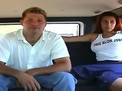 And here is some more from our BangBus archives. Bust redhead Julia agrees to...
