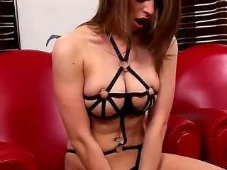 Monalee gets dressed in an allowed manner, just to please her master. the...