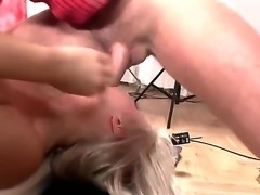 The gorgeous bitch Kassey Krystal with the beautiful tits makes the wonderful...