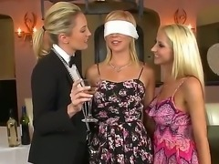 Three sweet pussies Hayden Hawkens,Kiara Diane and Sammie Rhodes in hot...