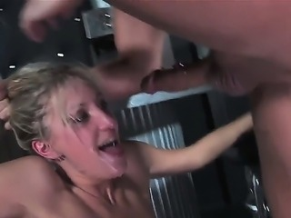 Wild mouth fucking with Angel Long