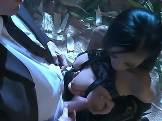 This porn parody on Men in Black teaches us one very important thing. Aliens can acquire damn sexy forms  like that of Kaylani Lei. Watch her lure Agent K into her pussy!