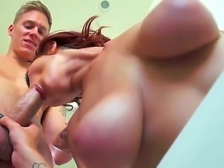 Jessica Robbin keeps Cody Skys attention at the point of her hard nipples. The coolest thing about Jessica is that she delivers amazing titjob and blowjob as well.