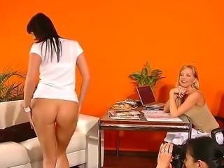 Sandra makes quite the lasting impression