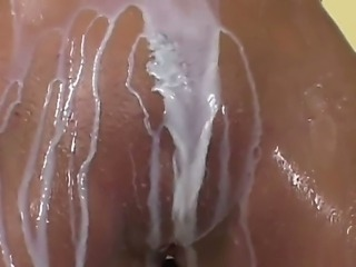 Horny blonde enjoys awesome solo masturbation show wich gives her intense...