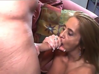 Turned on cock loving mature whore