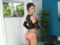 Watch the fascinating porn scene where beautiful milf is relaxing with her...