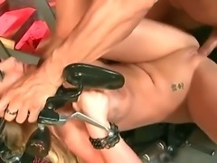 Lusty and really aroused golden haired momma Phoenix Marie really gets turned...