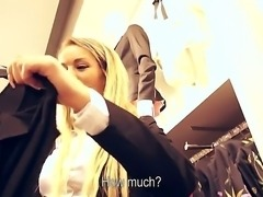 Sunshine goes for shopping and doesnt even realize the she can earn some...