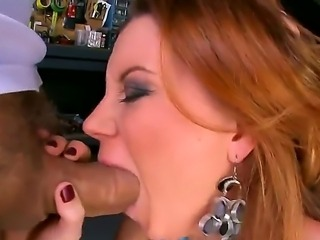 Sara Stone is going to get big penis of one fellow in her snatch, in magic...