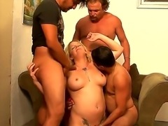 Three horny guys Cesar Agustus, Hegi and Jey Ashley came too gang bang sexy...
