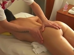 After the greatest massaging procedure in Serens life the banging begins. She...