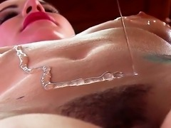 Bill Bailey presents awesome massage for Katie St. Ives trimmed and oiled pussy