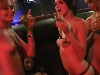 Hot girls Isabella and Savannah had great time at the club party girls got...