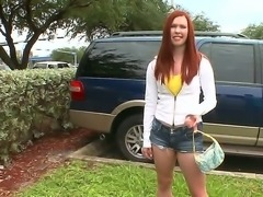 The talks that red-haired amateur babe Melody Jordan talks are so dirty  just...